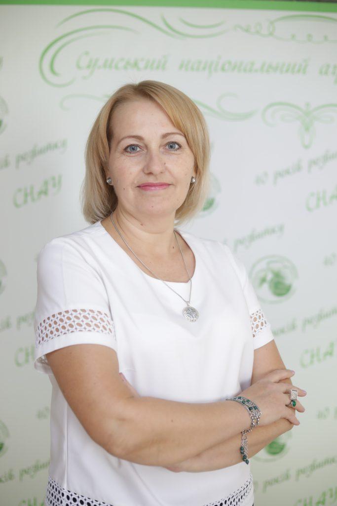 Декан біолого-технологічного факультету д.с.-г. наук,, професор, Вечорка Вікторія Вікторівна